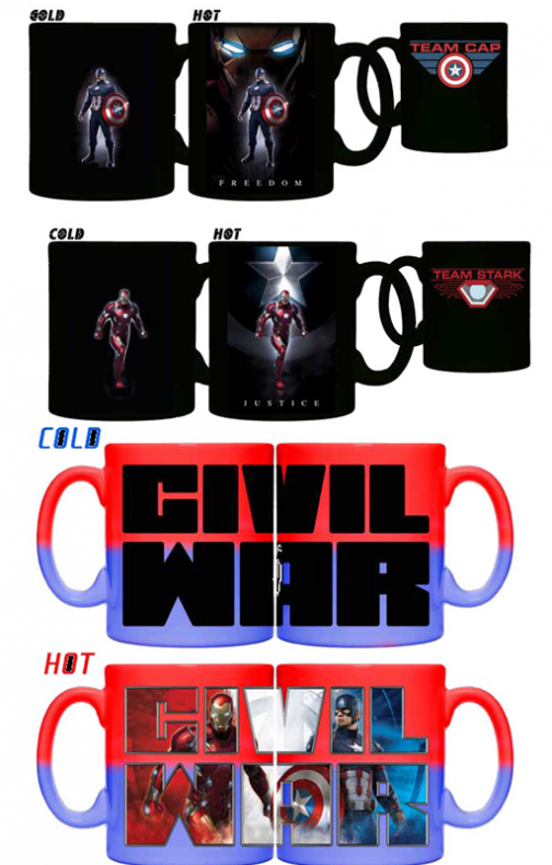 Captain America: Civil War tazas 02
