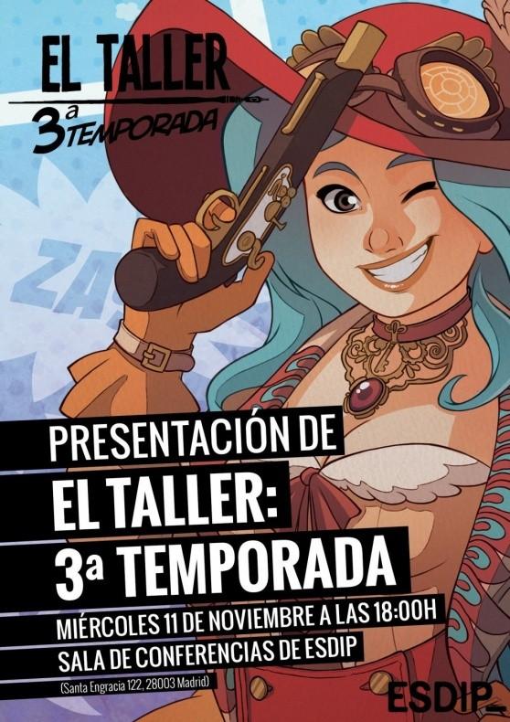ESDIP: El Taller 3ª Temporada