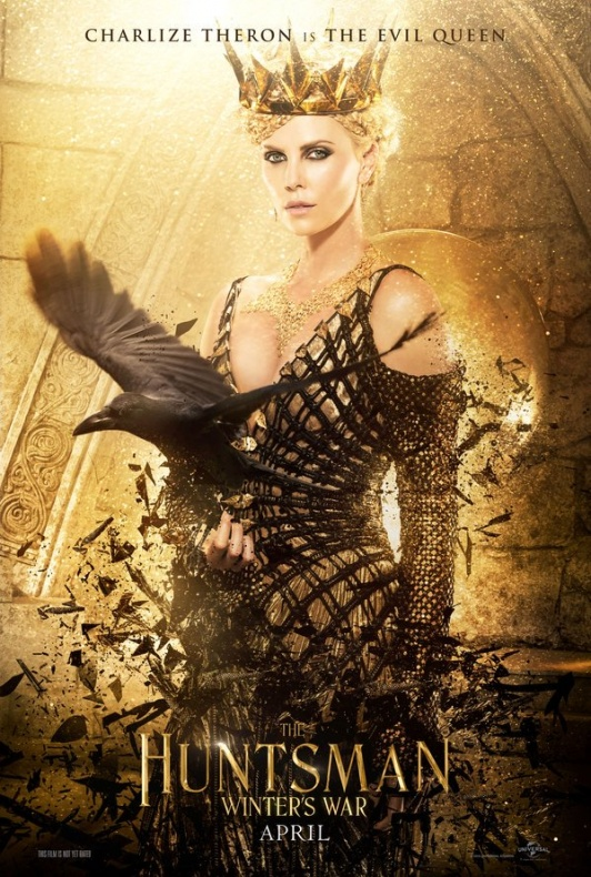 Charlize Theron es la Reina Malvada