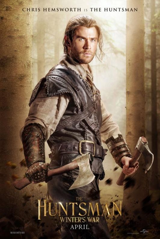 Chris Hemsworth es el Cazador