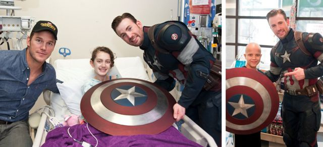 Chris Pratt Evans Hospital