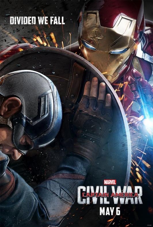 Civil War Poster Iron Man c492b