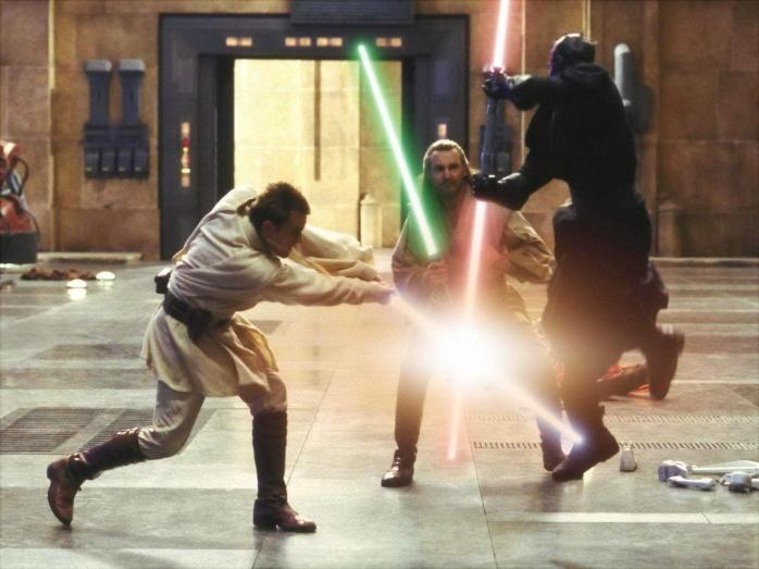 Darth Maul Obi y Qui
