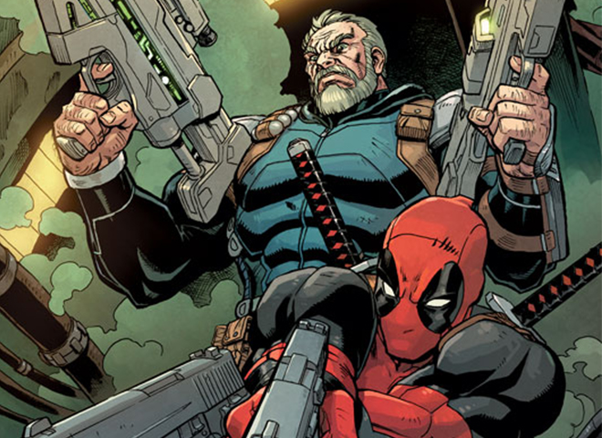 Deadpool and Cable Split Second Destacada