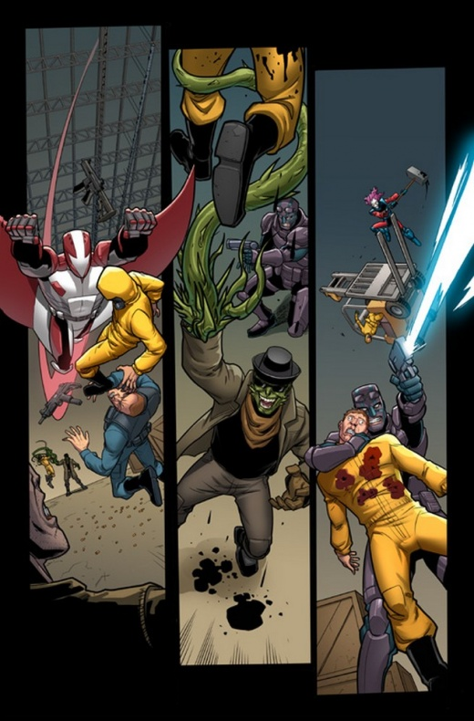 Deadpool and the Mercs for Money 1