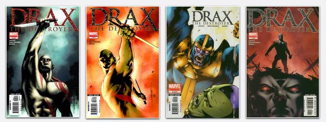 Drax the Destructor series