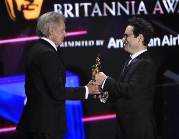 Harrison Ford y JJ Abrams Bafta