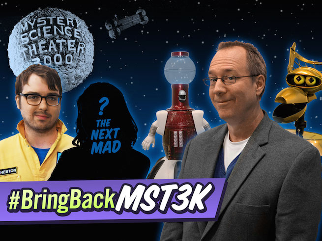 Jonah Ray Mystery Science Theater 3000