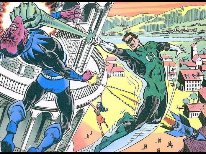 Jordan Vs Sinestro