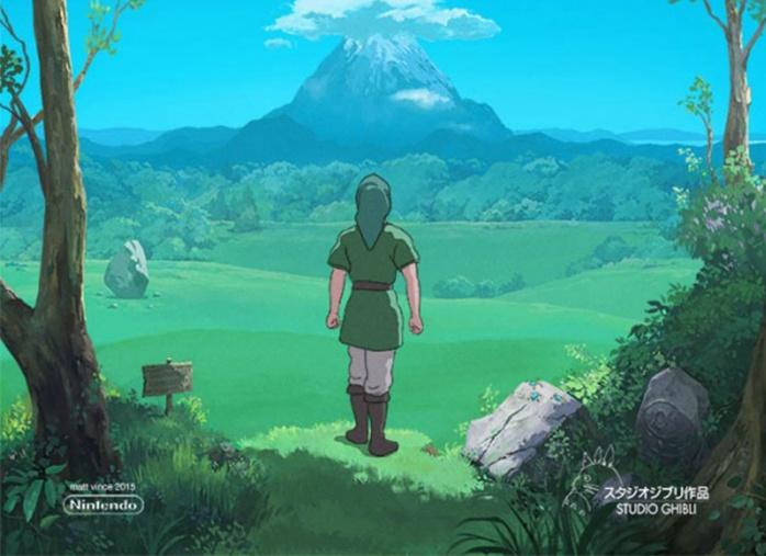 Legend of Zelda Studio Ghibli Destacada