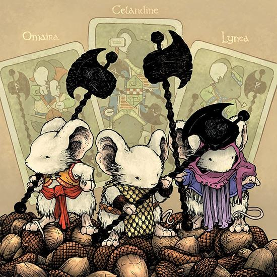 Mouse Guard Baldwin 4