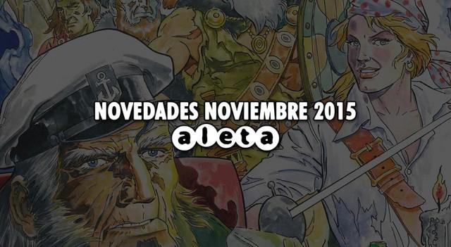 Novedades Aleta noviembre 15
