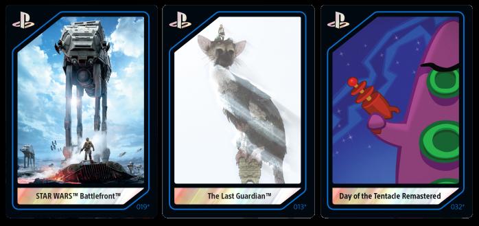 Cartas Coleccionables PlayStation 2