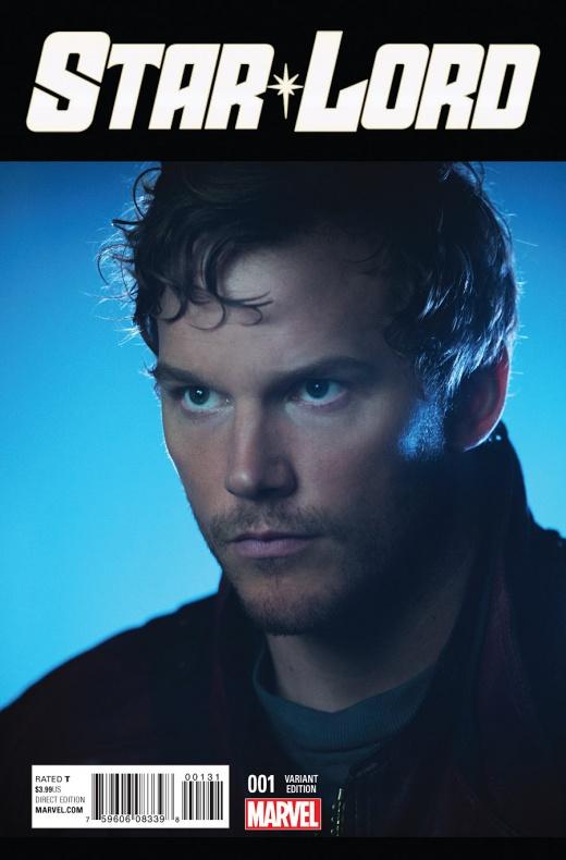Star-Lord Portada alternativa con Chris Pratt