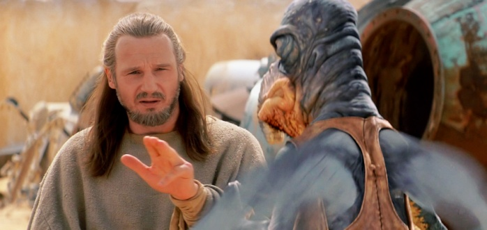 Qui-gon the force