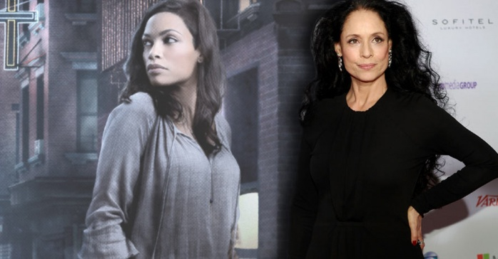 Sofia Braga y Rosario Dawson