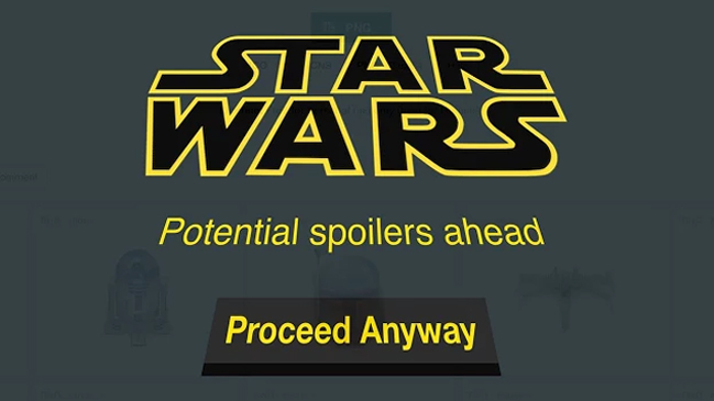 Spoilers SW