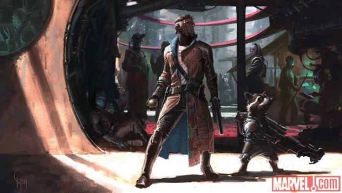 Star Lord Helmet artwork
