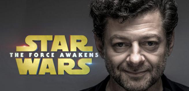 Star Wars Andy Serkis Snoke