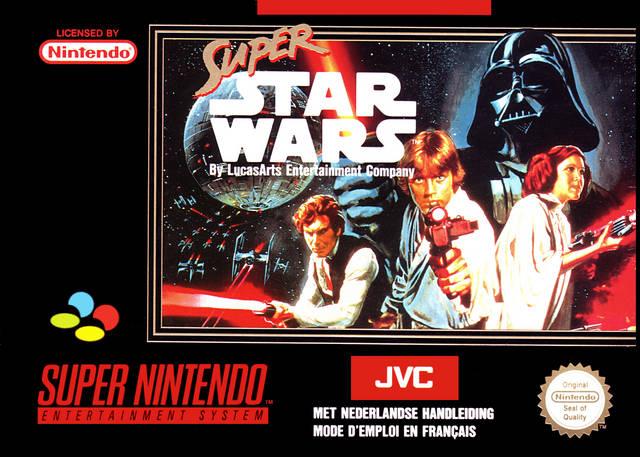Super Star Wars Portada