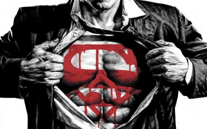 Superman Bloody Symbol