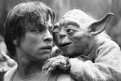 Yoda y LUke