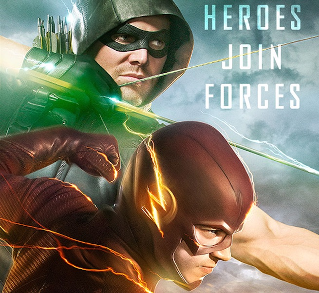 arrow - the flash - crossover 2015