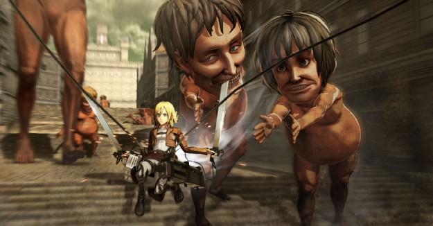 Ataque a los titanes videojuego