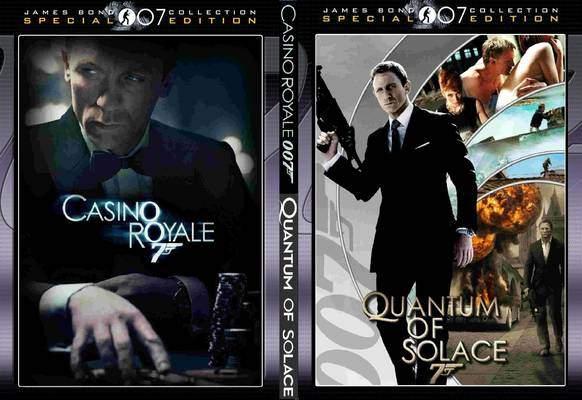 casino royale 2006 quantum of solace 2008