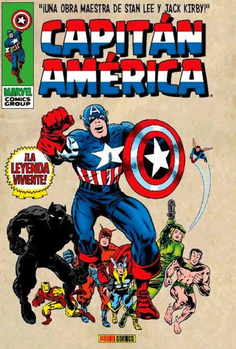 Marvel Gold - Capitán América: La leyenda viviente