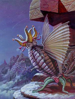 Ilustración de un Primigenio.