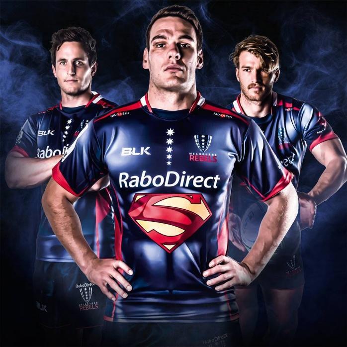 rugby superman blk melbourne rebels