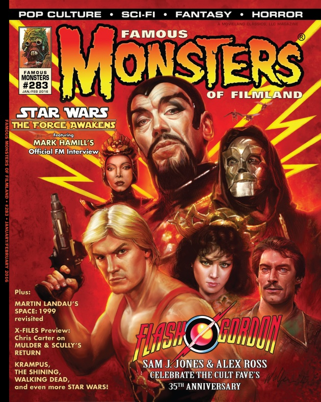 Portada Star Wars revista Famous Monsters 2