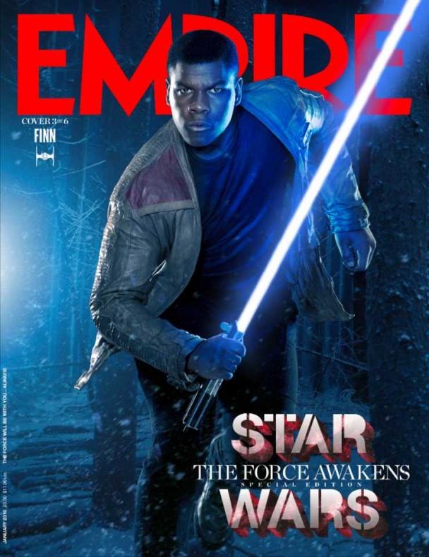 star wars vii empire portada finn
