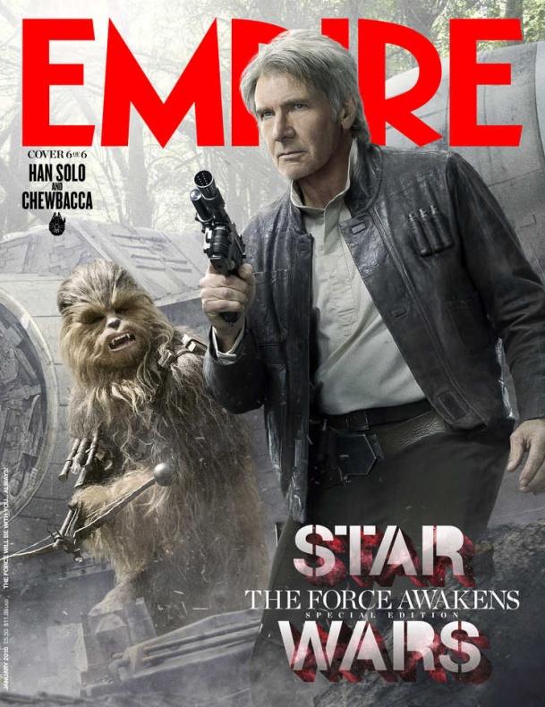 star wars vii empire portada han solo