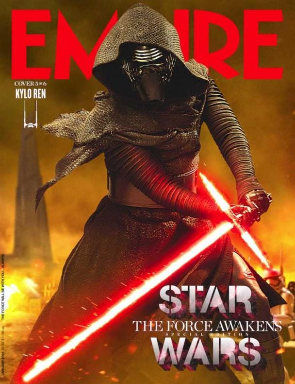 star wars vii empire portada kylo ren