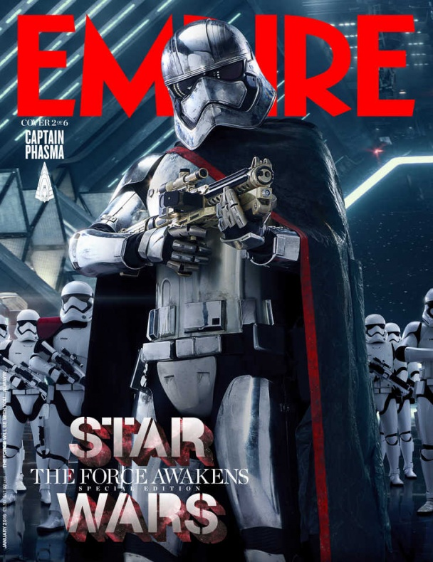 star wars vii empire portada phasma