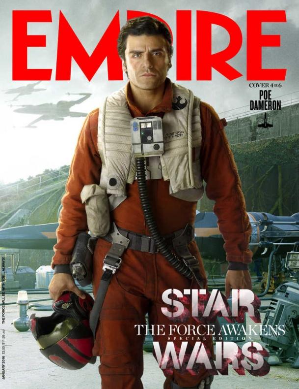 star wars vii empire portada poe dameron