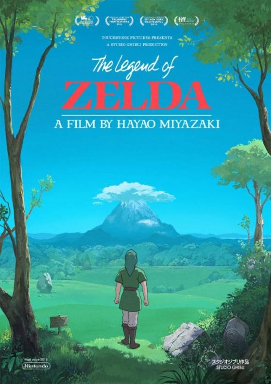 zeldaghiblipPoster Legend of Zelda Studio Ghibli 1oster1-600x848