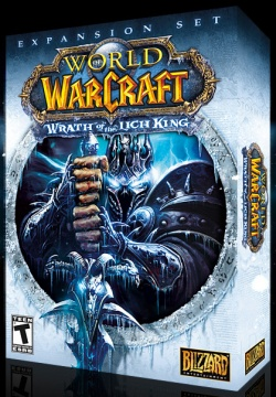 Portada de la expansión 'Wrath of the Lich King'