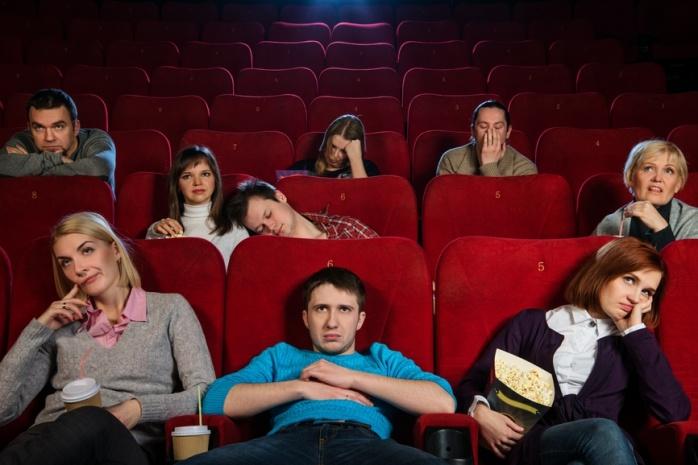 Aburrido cine