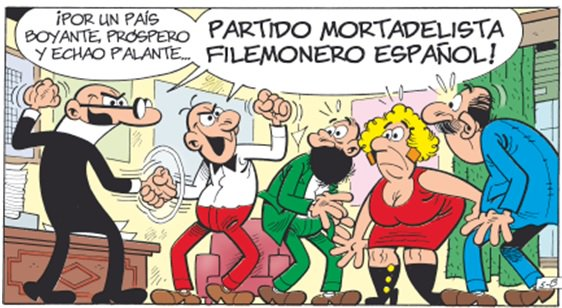 Elecciones Mortadelo y Filemón