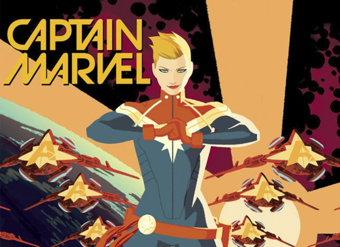 Captain Marvel destacada