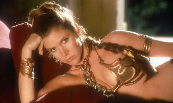 Carrie Fisher Leia SW6
