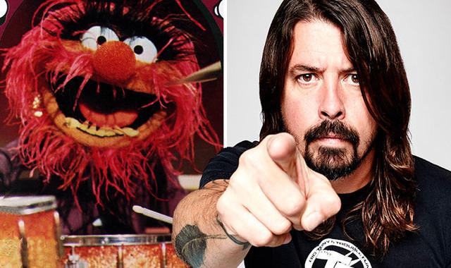 Dave Grohl vs Animal