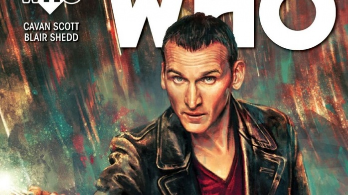 Doctor Who Noveno Titan Comics Destacada