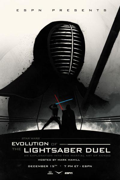 ESPN Star Wars - Evolución del duelo de sables de lux