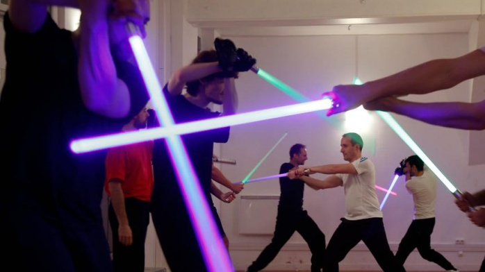 ESPN - lightsaber duel - Star Wars