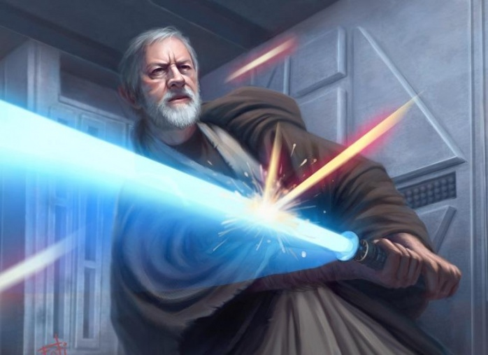 Estilos de lucha sable de luz 16 Soresu Obi Wan