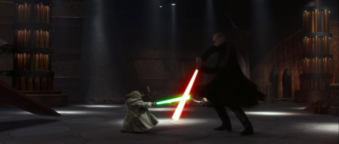 Estilos de lucha sable de luz 18 Ataru Yoda
